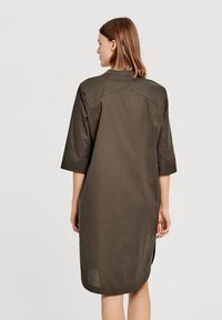 Opus - Day dress - olive - 1