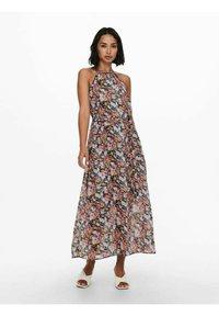 ONLY - NECKHOLDER - Maxi dress - pumice stone - 0