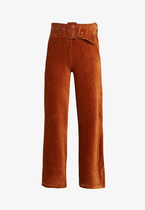 PONTON - Trousers - camel