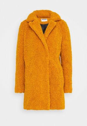 NMGABI - Classic coat - inca gold/lining black