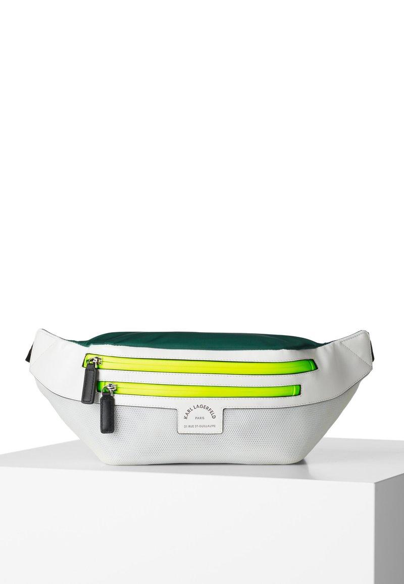 KARL LAGERFELD - Bum bag - white