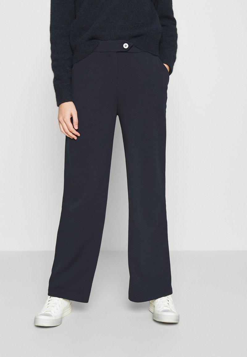 Vero Moda - VMBECCA PANTS  - Trousers - navy blazer