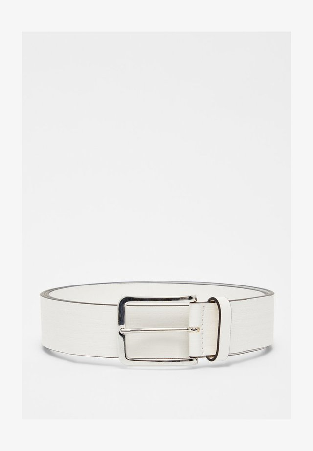 ALBERT - Belt - white