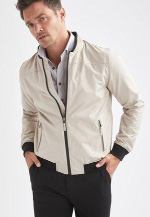 SLIM FIT  - Light jacket - beige