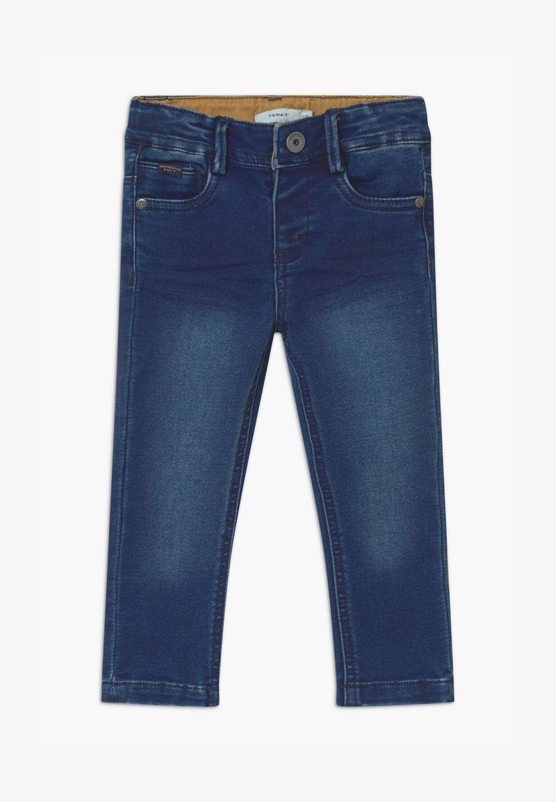 Name it - NMMTHEO - Straight leg jeans - dark blue denim