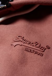Superdry - ELITE ZIPHOOD - Hettejakke - smoke rose - 4