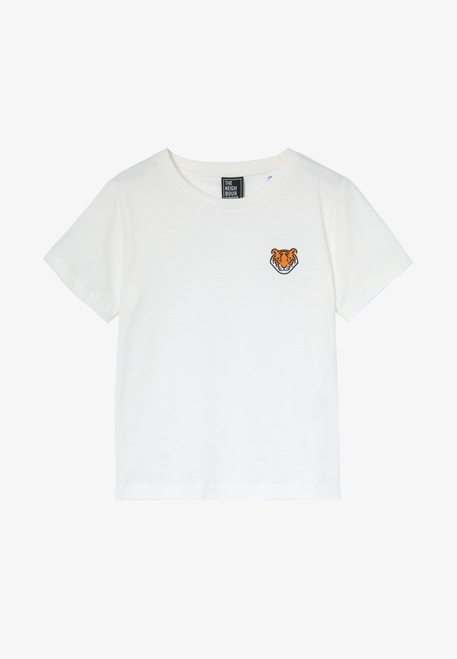 TIGER - T-shirt con stampa - offwhite