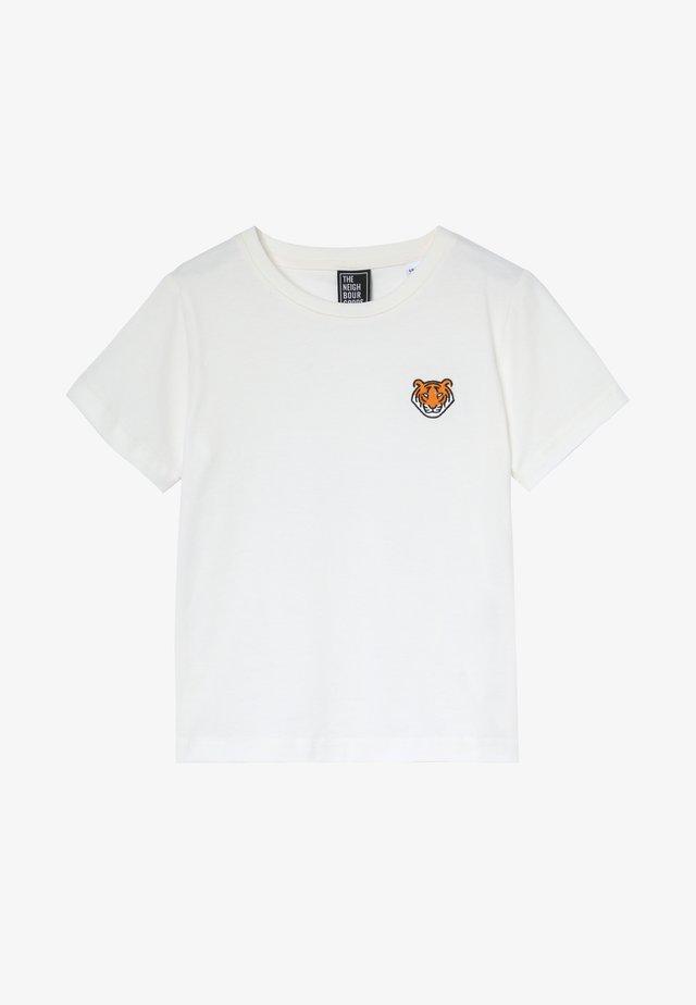 TIGER - Printtipaita - offwhite