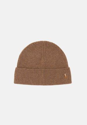 HAT - Beanie - honey brown heath