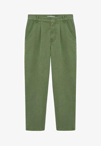 MAURO - Trousers - kaki