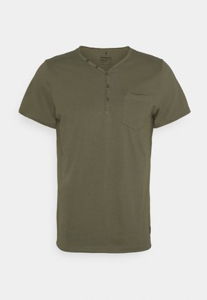 TEE - Basic T-shirt - dusty olive