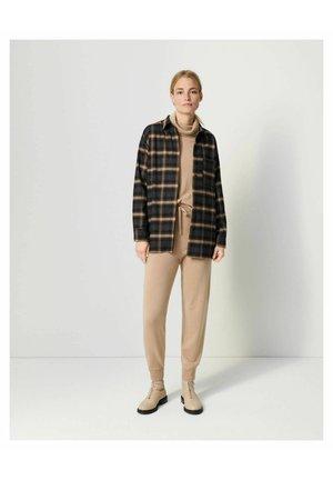 ZAPLENA - Button-down blouse - nougat