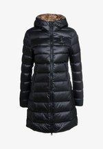 IMPERMEABILE LUNGHI  - Down coat - black