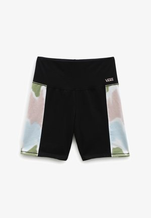 WM EMBERLY LEGGING SHORT - Shorts - black/tie dye