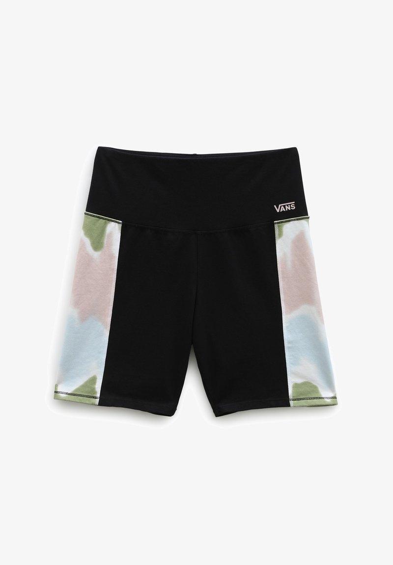 Vans - WM EMBERLY LEGGING SHORT - Shorts - black/tie dye