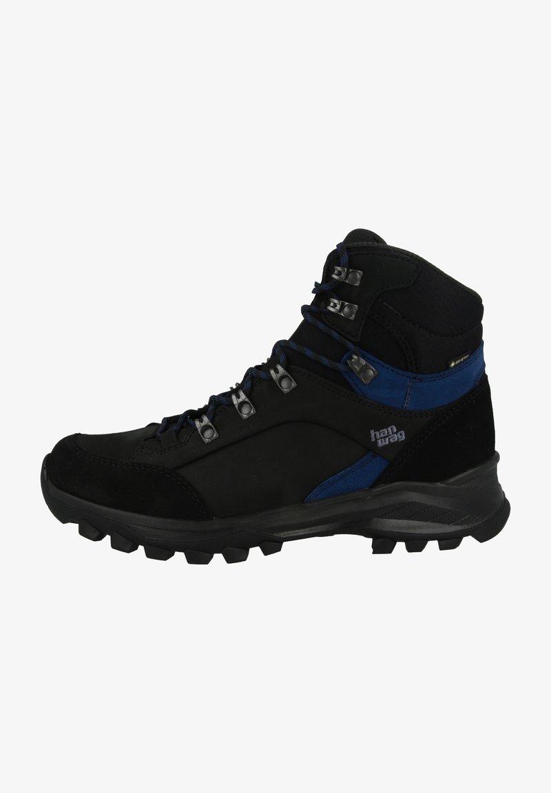 Hanwag - Bergschoenen - black-blue
