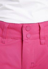 Roxy - BACKYARD  - Snow pants - beetroot pink - 3