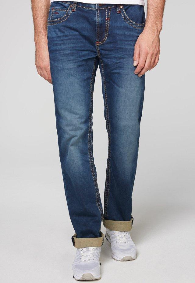 Straight leg jeans - ocean blue jogg
