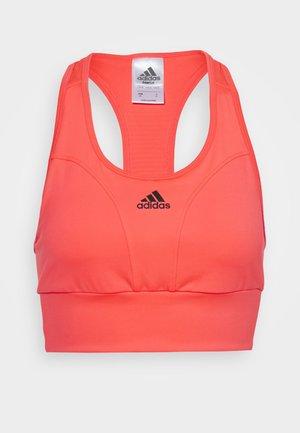Sport-bh met medium support - pink/black