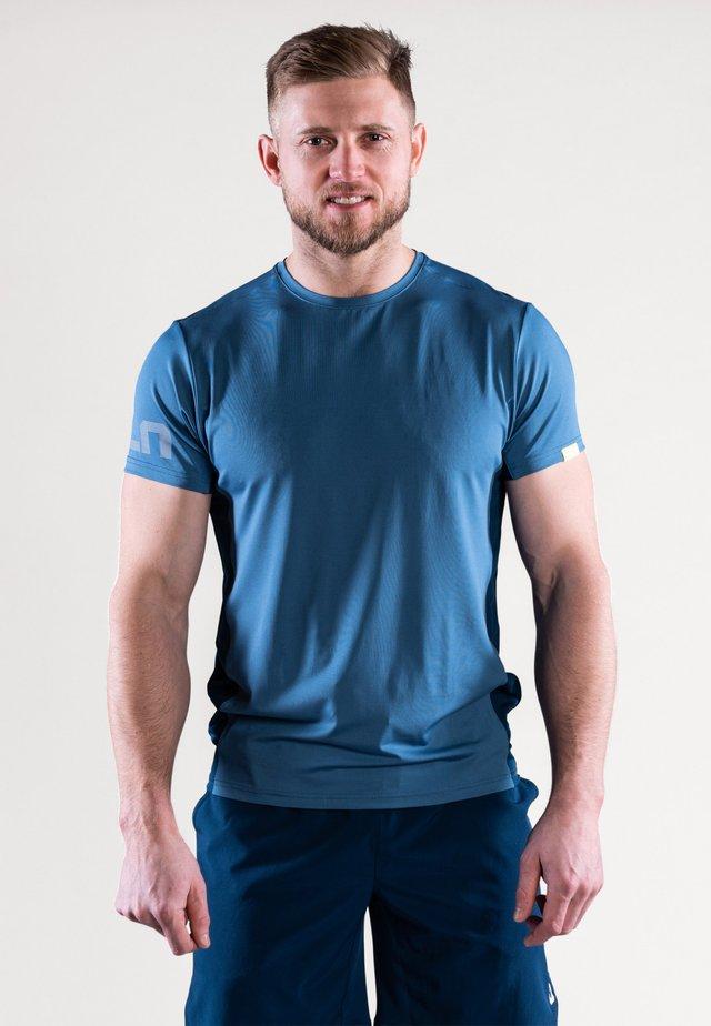 MIST - T-shirt med print - ocean blue