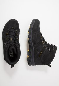 Jack Wolfskin - VOJO 3 TEXAPORE MID - Outdoorschoenen - black/burly yellow - 1