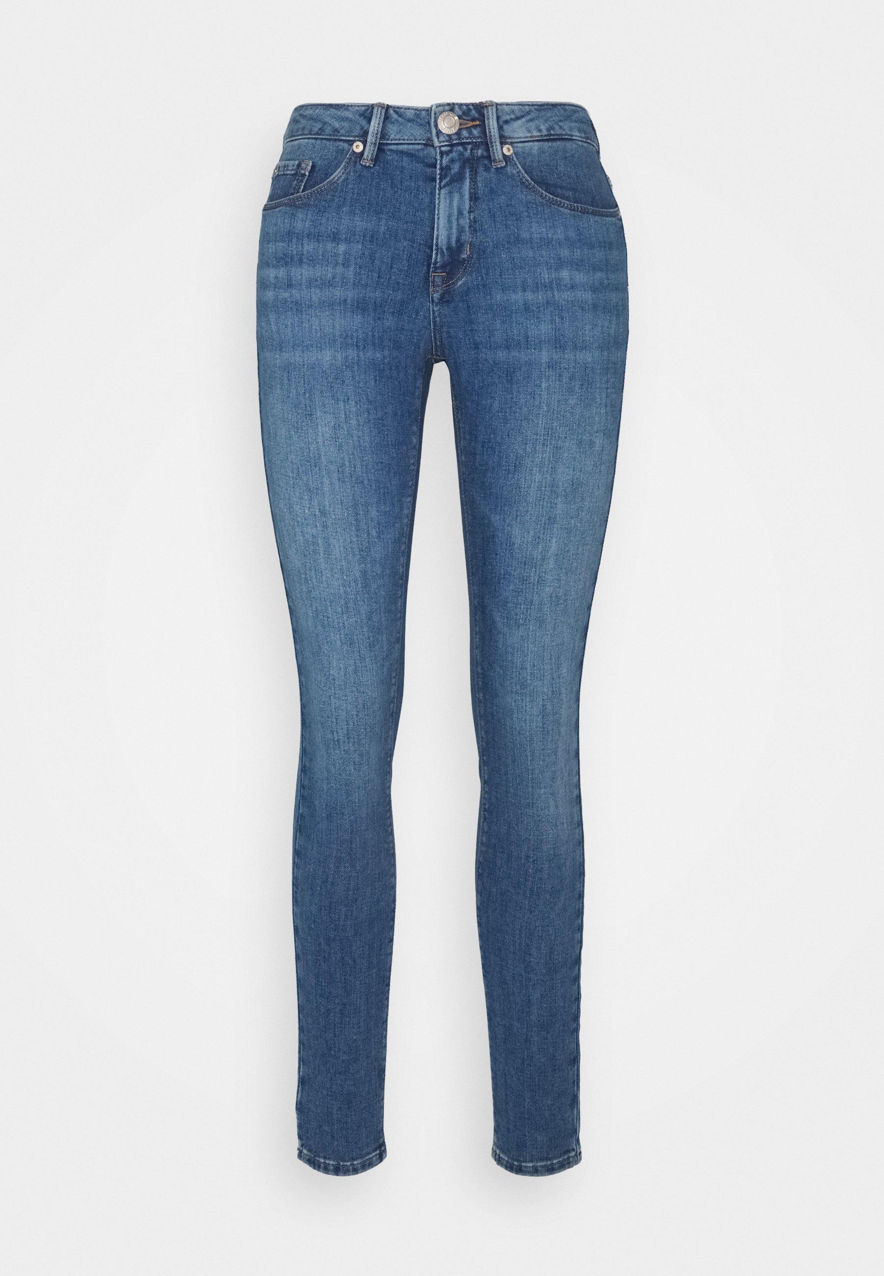 Women ELMA MID BLUE - Jeans Skinny Fit