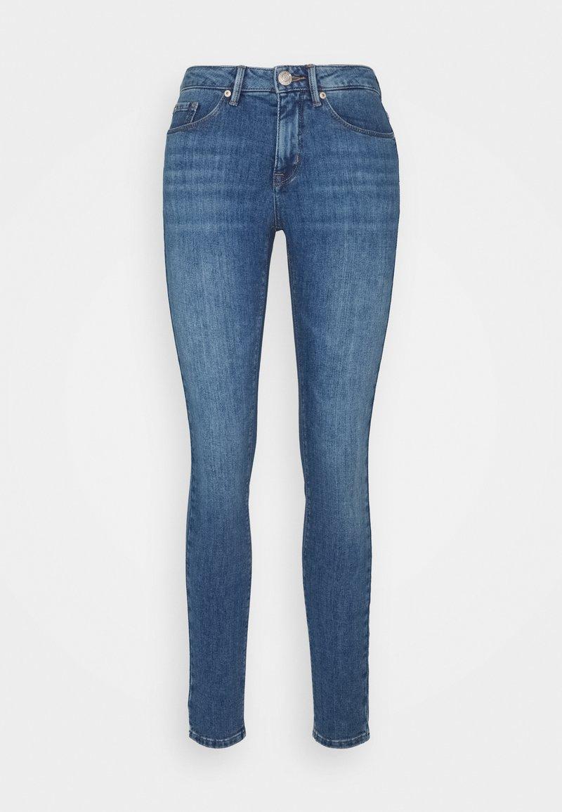 Opus - ELMA MID BLUE - Jeans Skinny Fit - tinted blue