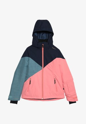 SHEERWATER GIRLS SNOWJACKET - Snowboardová bunda - desert pink