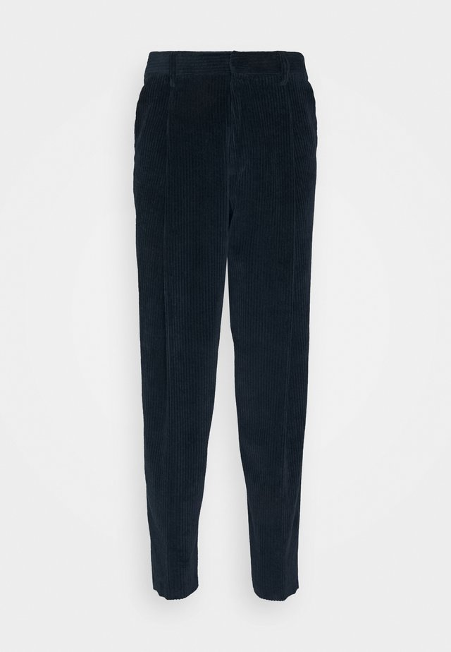 GENTS FORMAL TROUSER - Trousers - dark blue
