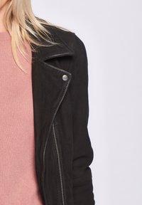 Maze - ROMIE - Leather jacket - black - 4