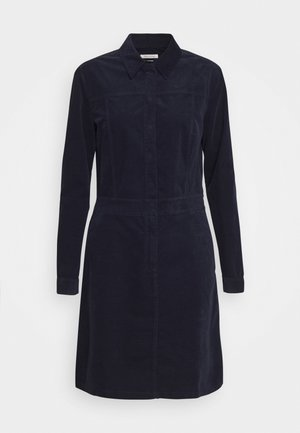 DRESS STYLE BUTTON PLACKET DETAILS - Shirt dress - midnight blue