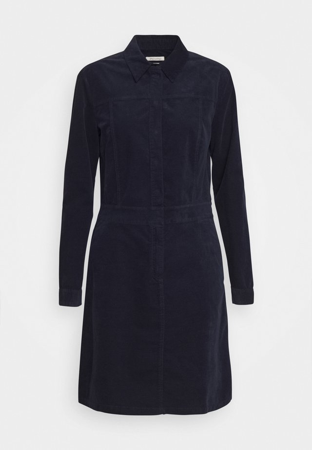 DRESS STYLE BUTTON PLACKET DETAILS - Blousejurk - midnight blue
