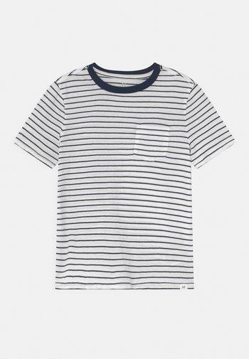 BOYS - T-Shirt print - breton blue