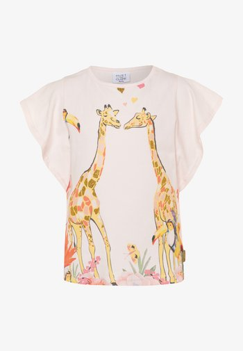 ALLY - Print T-shirt - rosewater