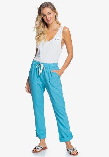 ON THE SEASHORE  - Trousers - adriatic blue