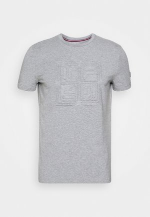 FERO - T-shirt basic - light grey merlange