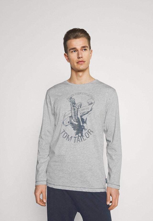O-NECK - Pyjama - grey medium melange
