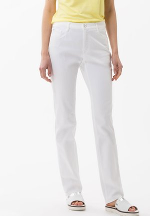 STYLE MARY - Trousers - white