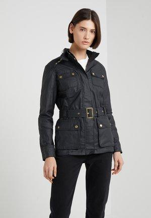 BEARINGS CASUAL - Summer jacket - black tonal