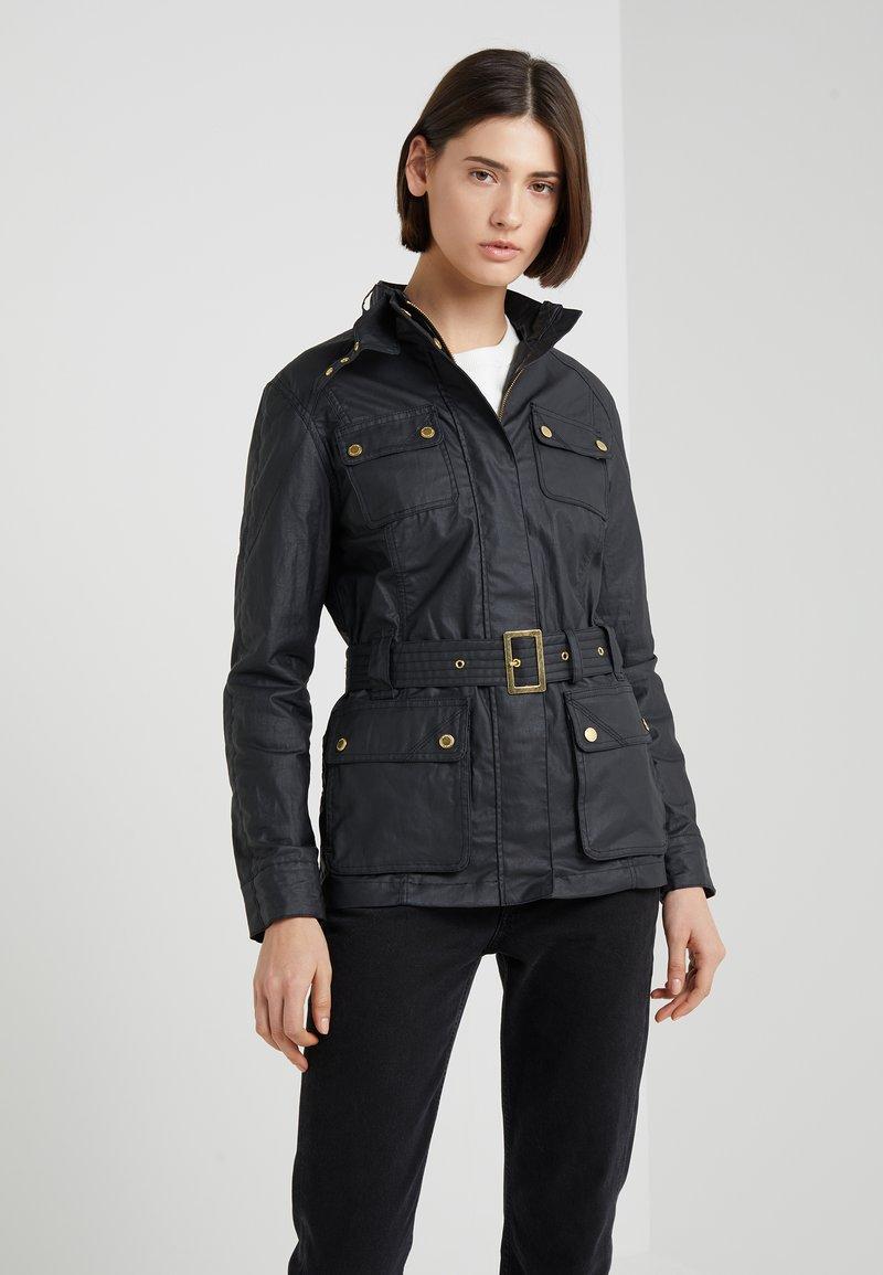 Barbour International - BEARINGS CASUAL - Summer jacket - black tonal
