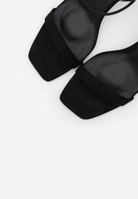 Missguided - BARELY THERE - High heeled sandals - black - 4
