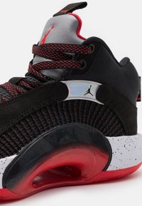 Jordan - AIR 35 - Basketball shoes - black/fire red/reflect silver - 5