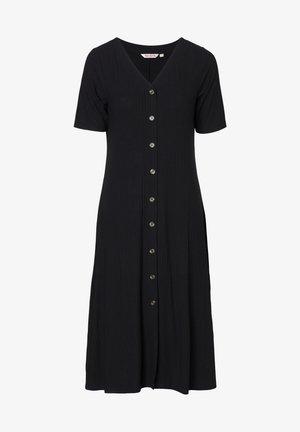 DRESS MAYA - Skjortekjole - black