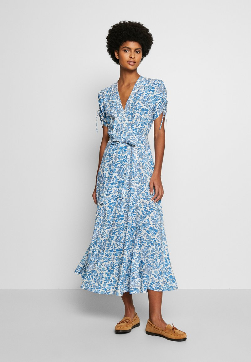 Polo Ralph Lauren - Day dress - white/aqua