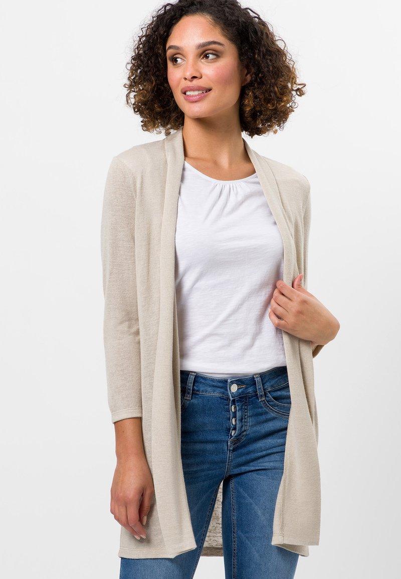 zero - Cardigan - raw cotton