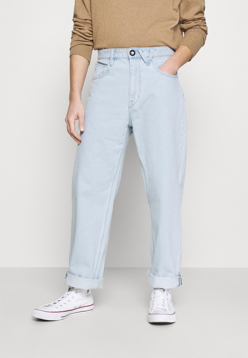 Volcom - BILLOW PANT - Relaxed fit jeans - light blue