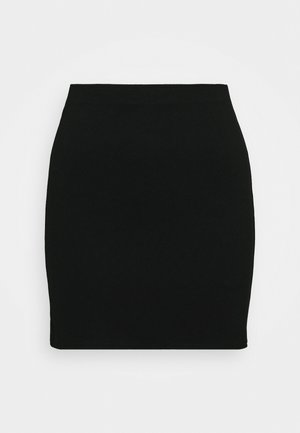DARIA SKIRT - Mini skirt - black