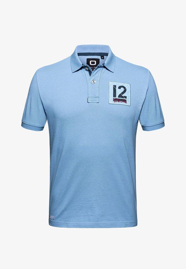 12M CLASSIC POLO - Polo - denim blue