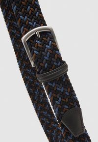 Anderson's - STRECH BELT UNISEX - Pletený pásek - blue/brown - 3