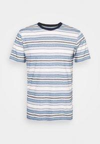 KnowledgeCotton Apparel - ALDER STRIPED TEE - Print T-shirt - asley blue - 5